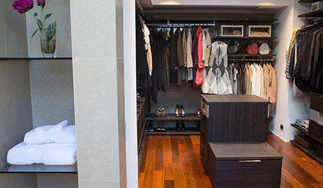 Modern Master Closets modern virtuoso master closet - california closets