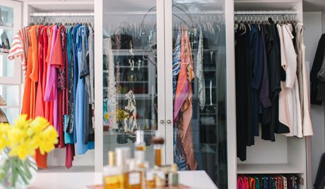 Stylish Celebrity Closets From California Closets