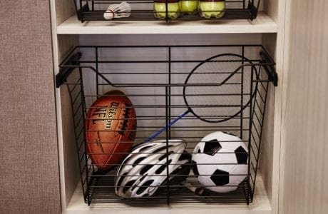 California Closets - Garage Basket Storage