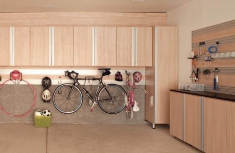 California Closets - Garage with Fusion Track Wall Storage