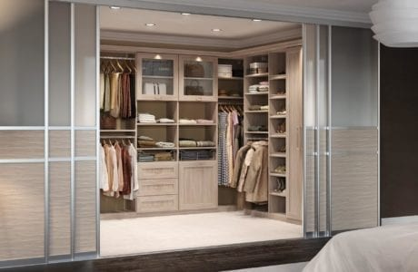 california closets stella walk in closet with sliding doors