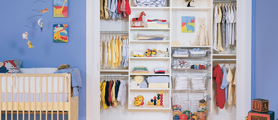 5 Design Ideas How to Transition a Baby's Closet into a Kid's Closet