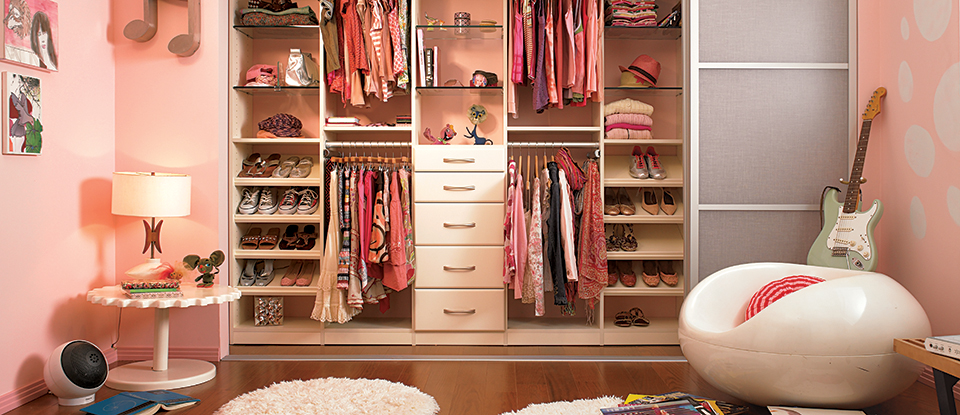 How to Design a Kid-to-Teen Closet