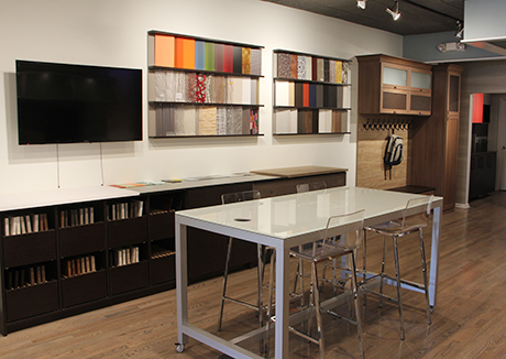 California Closets Custom Living Room Showroom