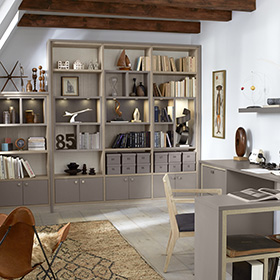 Custom Home Office Storage Options | California Closets