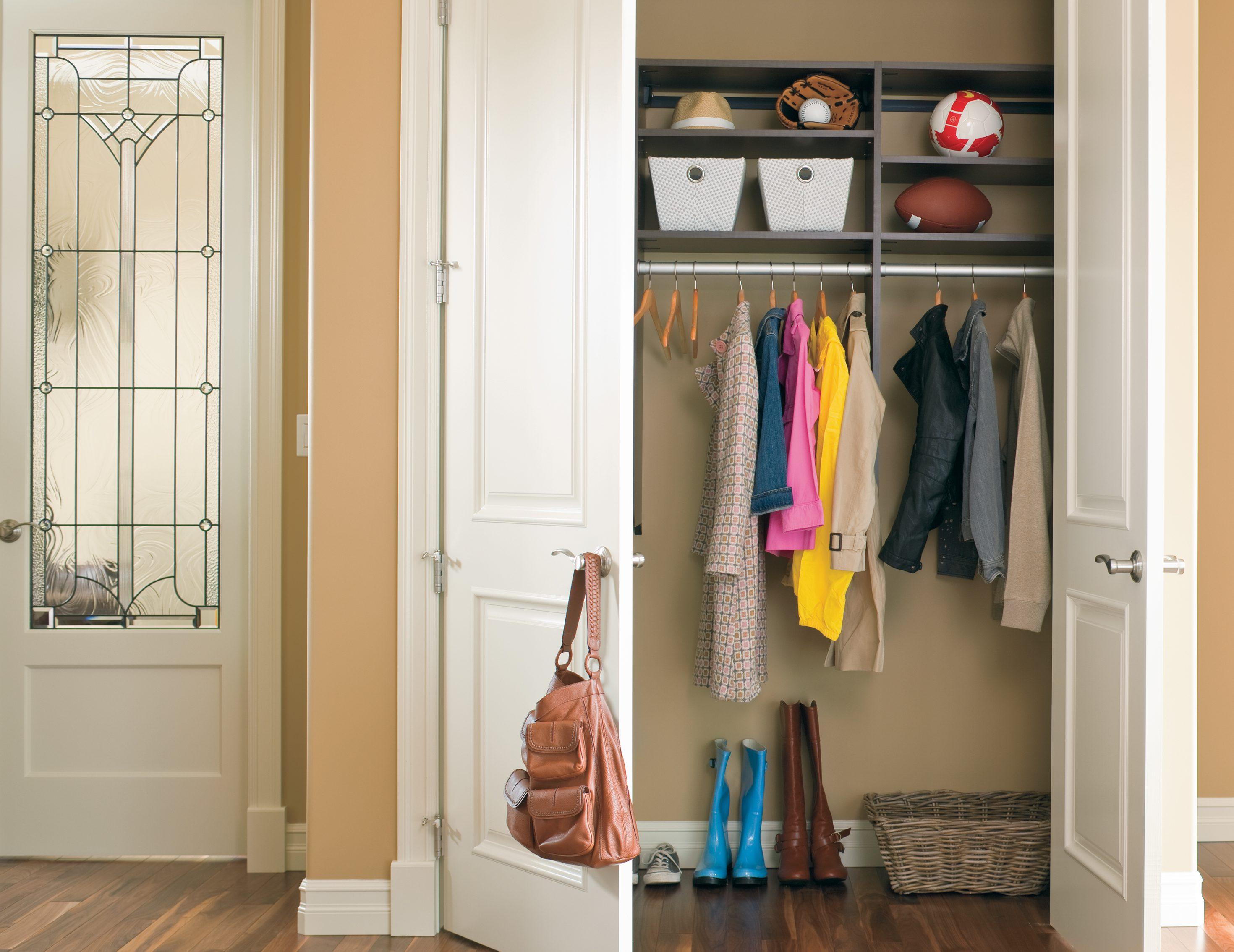 California Closets Eau Claire - Janssen Hall Closet Storage System