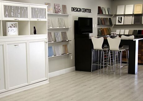California Closets Los Alto Showroom Interior