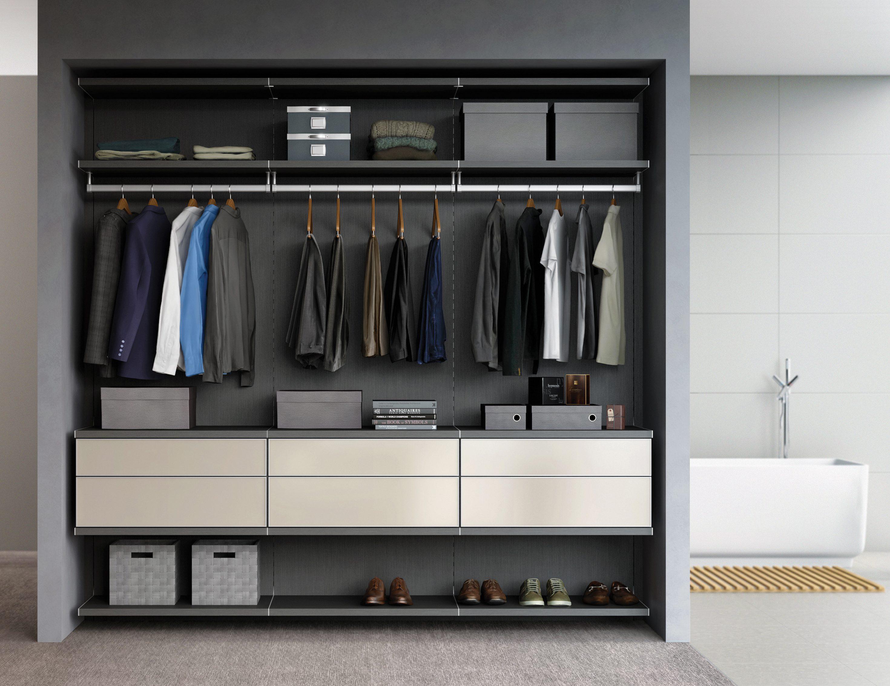 . Modern Design Closet Systems   Organizers   California Closets