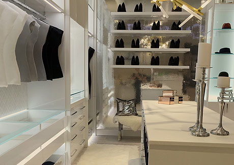 California Closets Edina MN Showroom Interior