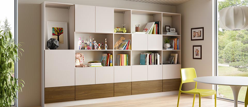 Wardrobes and customized storage areas we serve for California closets puerto rico