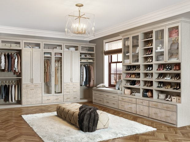 LA GARDE-ROBE WALK-IN DES PARKER