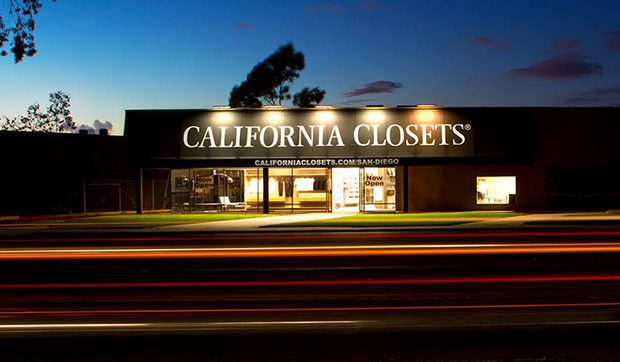 California Closets San Diego exterior showroom