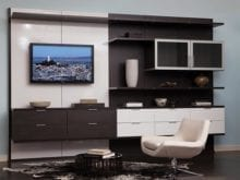 Entertainment Centers Built In Media Cabinets By