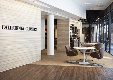 California Closets San Francisco showroom interior