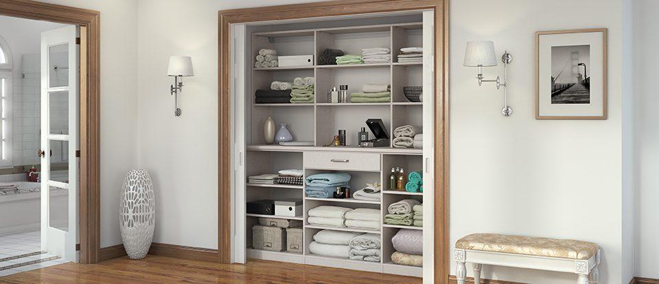 California Closets Eau Claire - Make More Use of Your Hall Closet