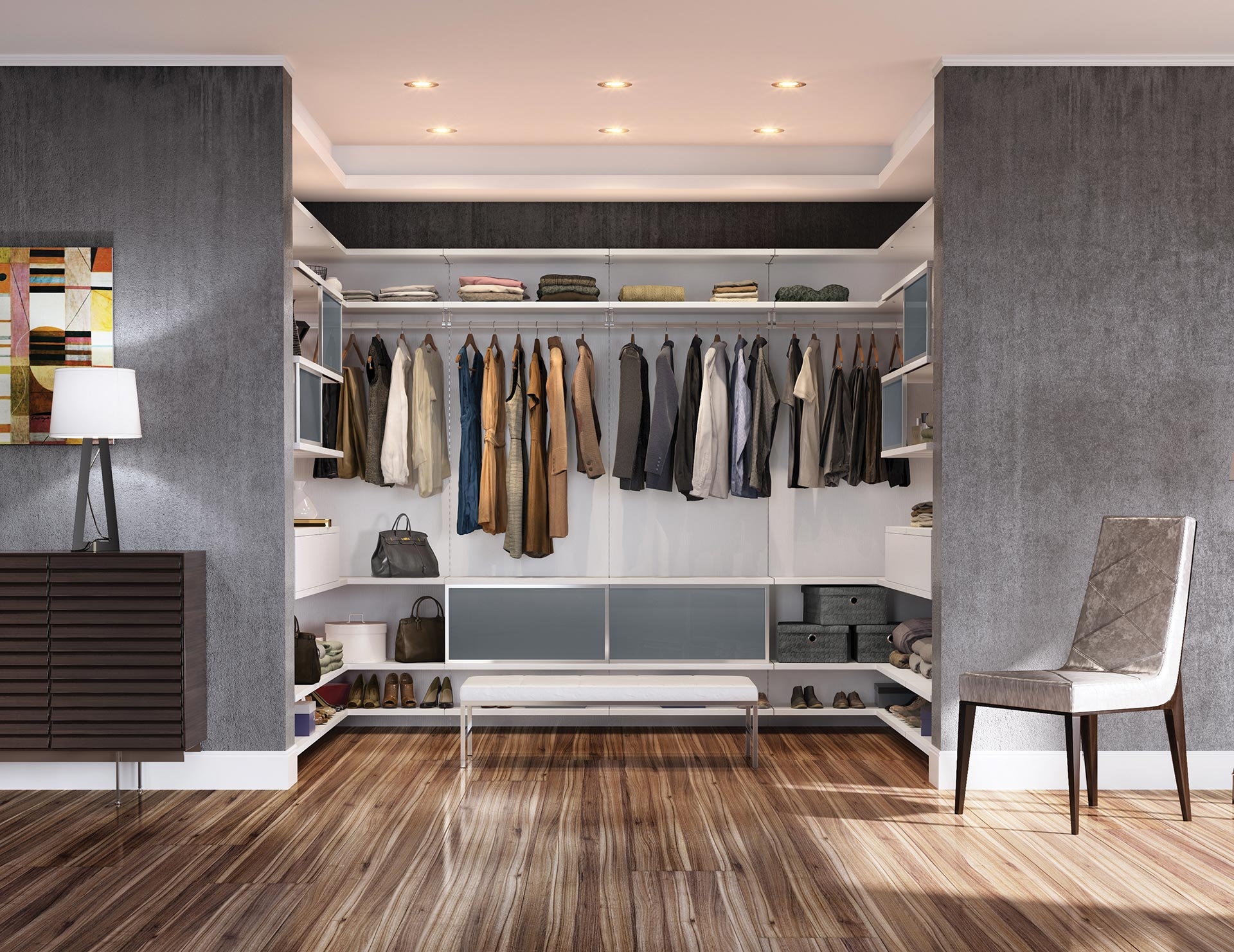 Modern Design Closet Systems & Organizers  California Closets