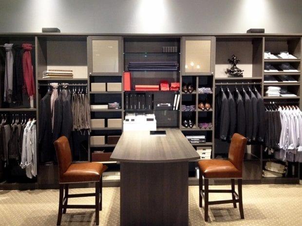 California Closets - Custom Commercial Storage System