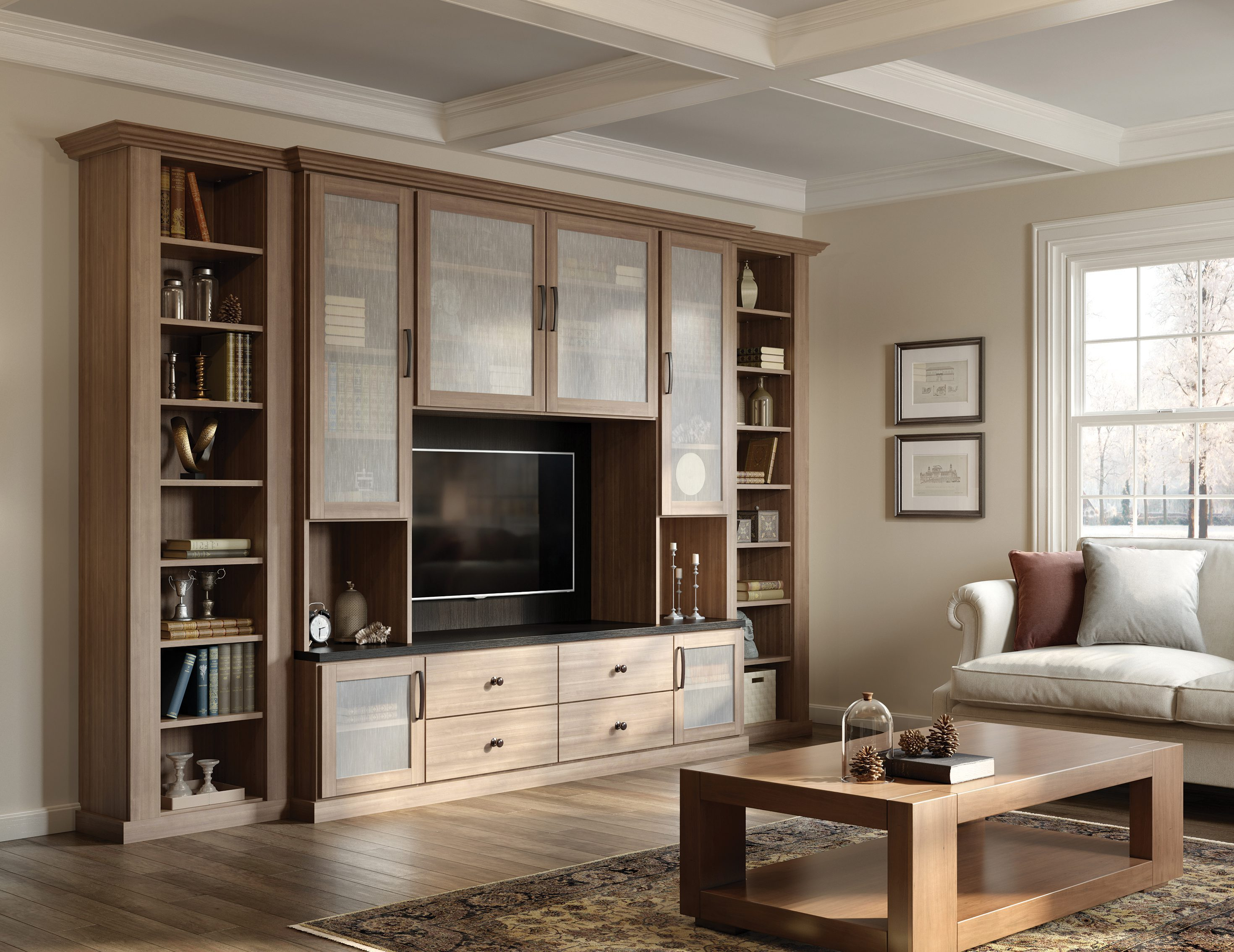 Built-in Entertainment Centers & Media Cabinets | California