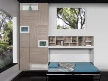 wall bed closet system