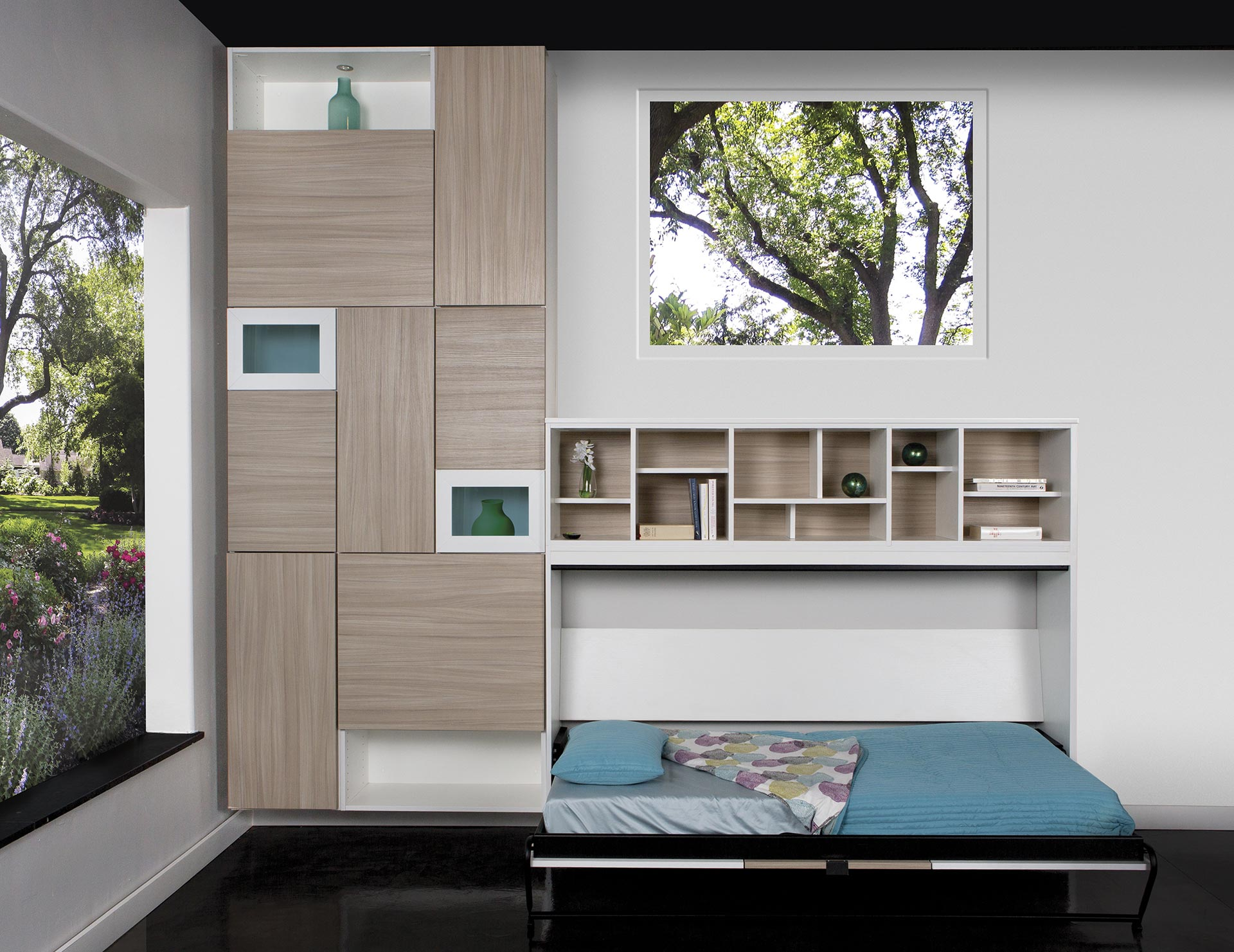 California Closets Boston - Side-tilt Murphy Bed