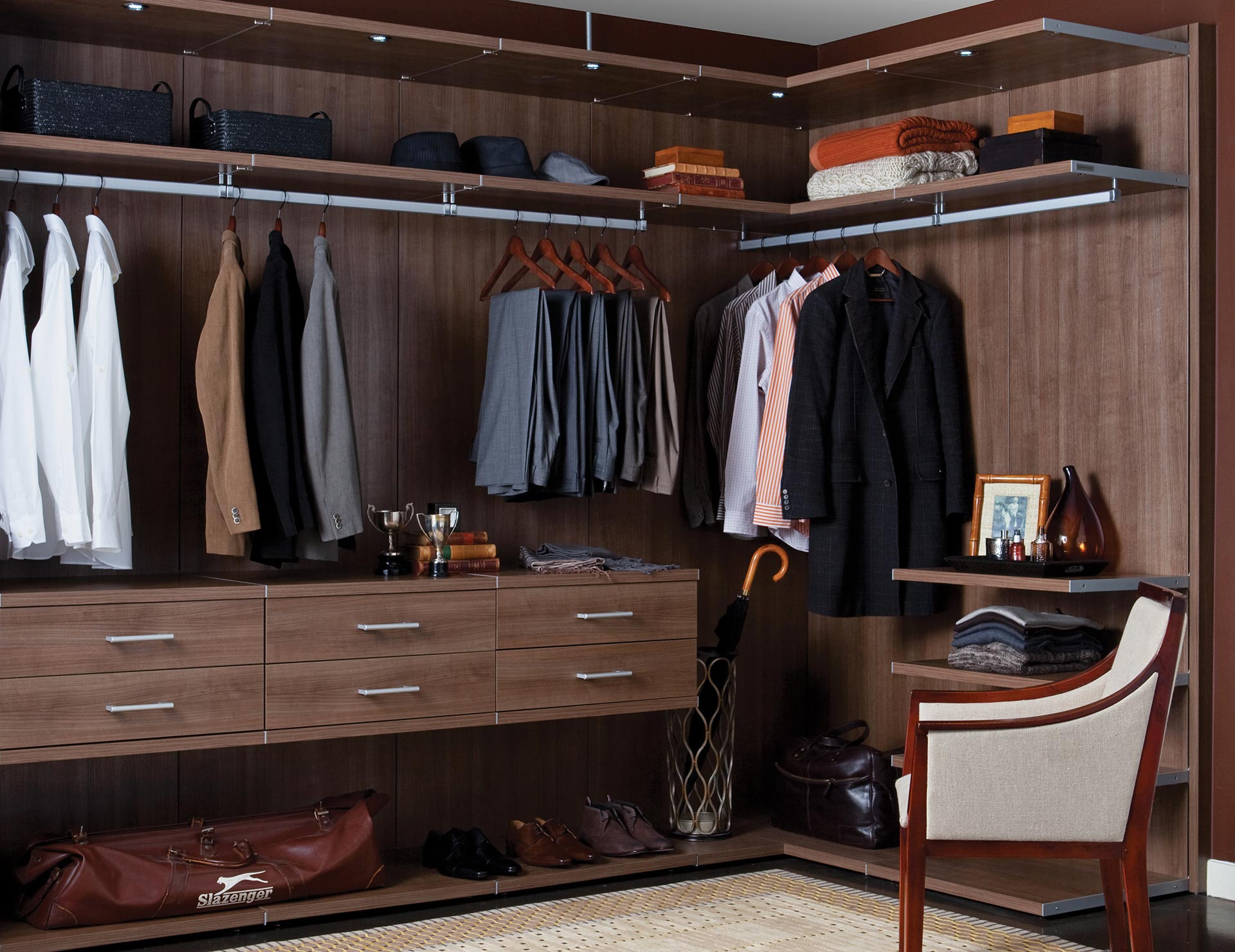Walk In Closet Systems Walk In Closet Design Ideas