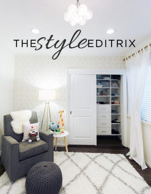 The Style Editrix: Nursery Reveal