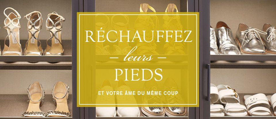 Joignez-vous à nous pour soutenir L'Étoffe du succès® Montréal à #GivingShoesDay