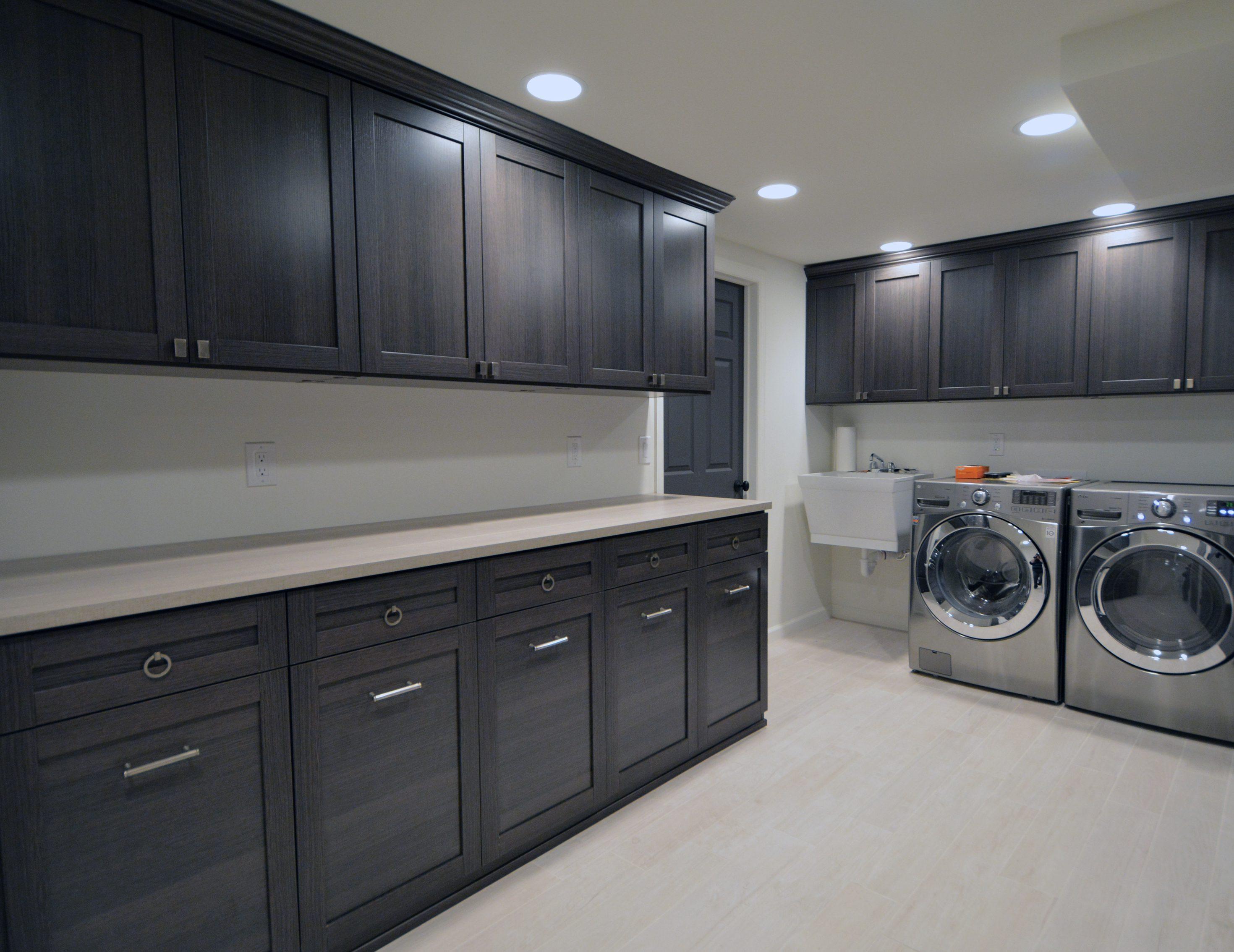 Armoire Comptoir De Famille salle de lavage - garde-robes et rangement personnalisé
