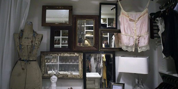 celebrity walk-in closet California Closets