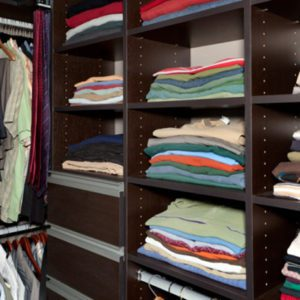 Before and after video California Closets