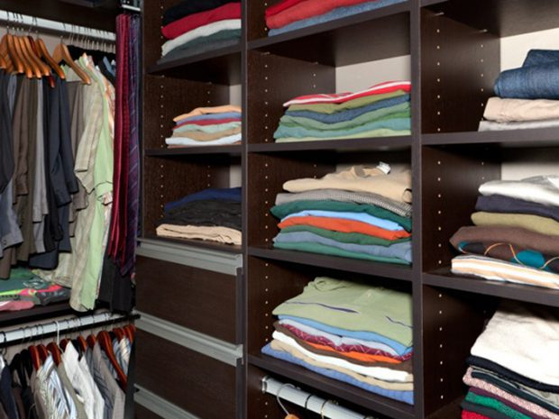 Before & After: A Fashionable & Functional Reach-In Closet