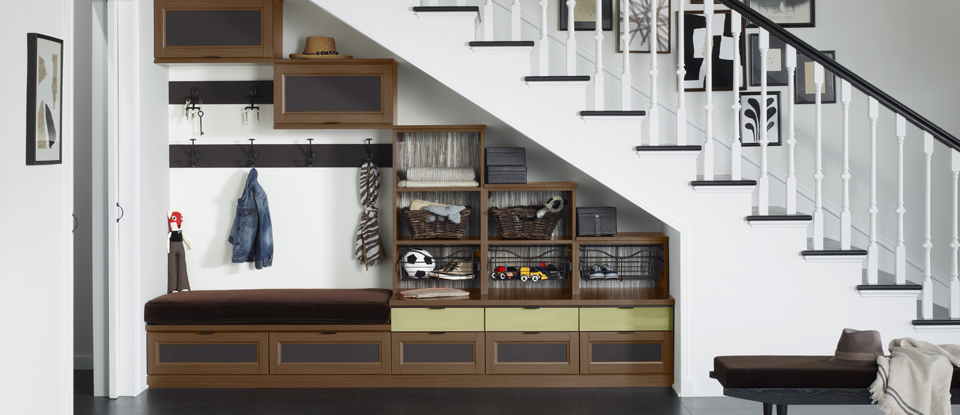 3 Tips for Over- and Under-the-Stairs Storage