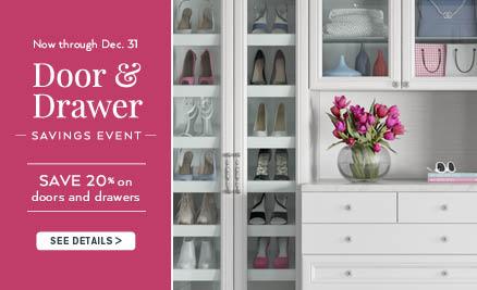 Door & Drawer Winter Savings Event NJ042