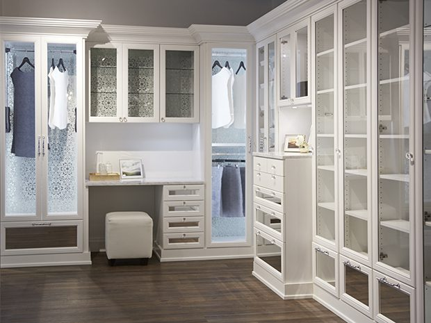 Walk-in Closet - California Closets Showroom in San Francisco