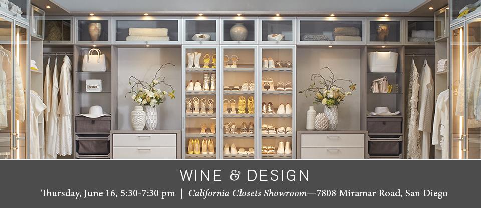 California Closets San Diego – Wine & Design