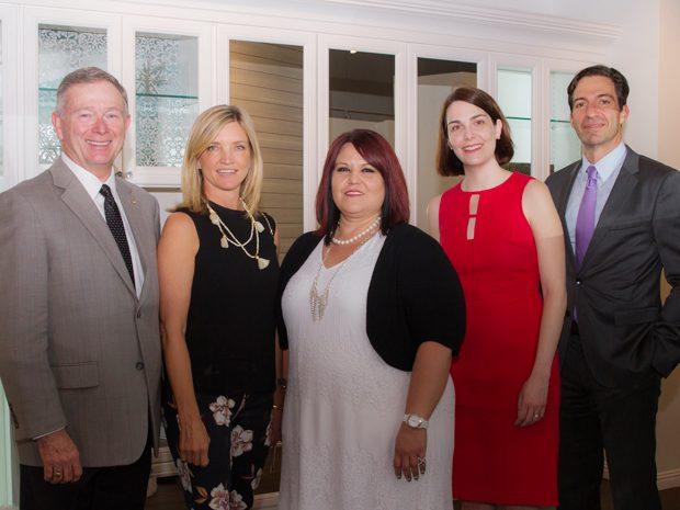 William Barton,  (California Closets CEO) Sam Toole,  Melissa Garcia,  Erica Foster,  Jeremy Rakusin