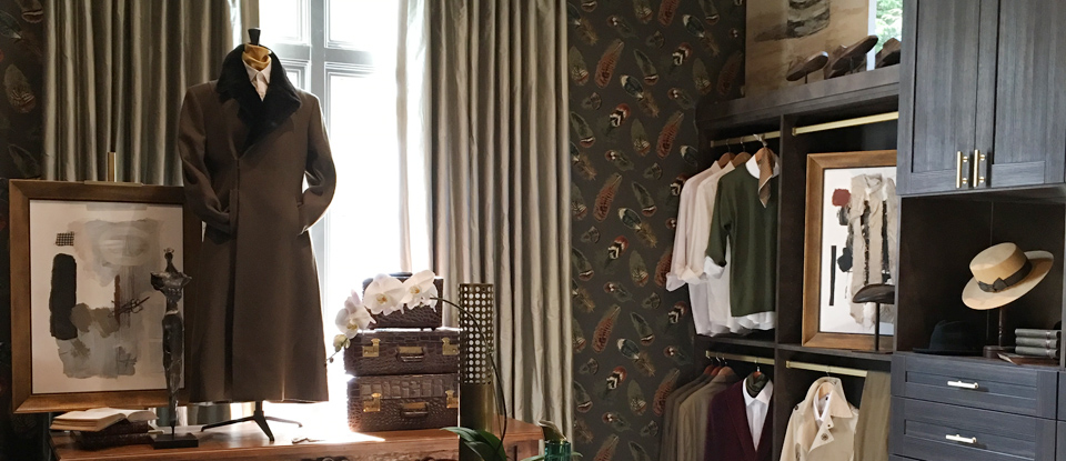 The Gentleman's Closet- A Q/A with California Closets' Calais McGuinness on the 2016 Southeastern Showhouse