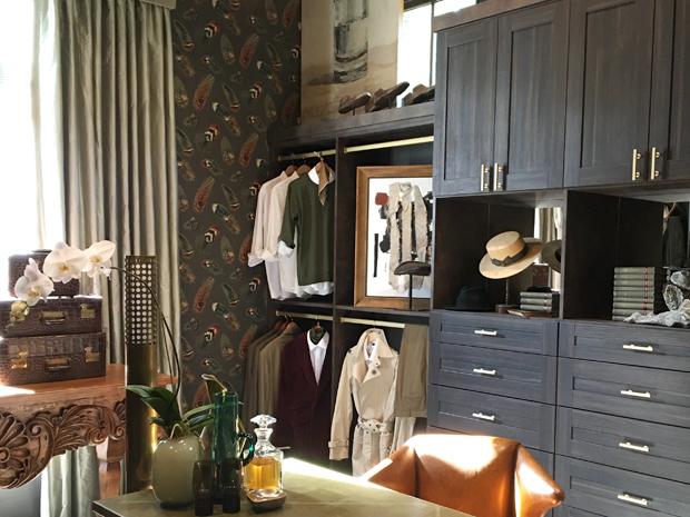 Le garderobe du gentleman – Entrevue avec Calais McGuinness de California Closets, à propos du salon Southeastern Showhouse