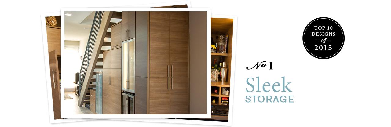 Top 10 Designs of 2015 - Sleek Storage