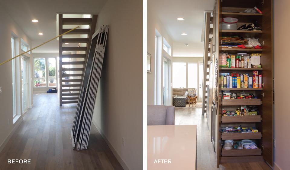 Top 10 Designs of 2015 - Sleek Storage Before & After