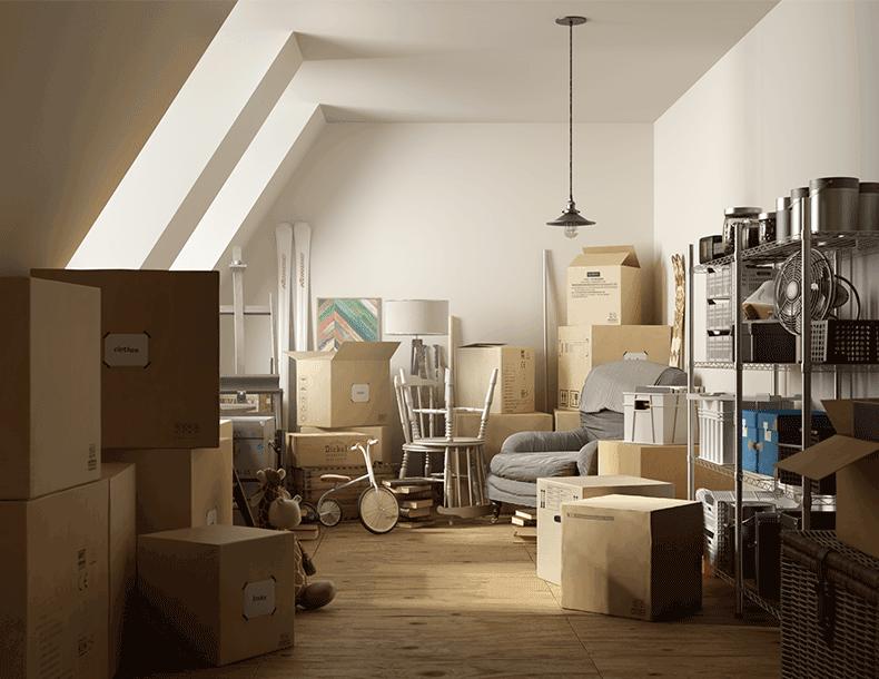 Garages et entrées