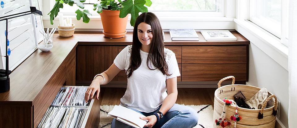 Tastemaker Q/A:  Michelle Adams' Home Office Bliss