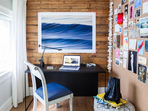 Entrevista con una creadora de tendencias: el placer de Michelle Adams de trabajar desde su oficina hogareña