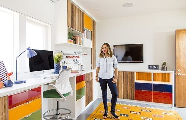 La última habitación que lo tiene todo para la fundadora de Brit + Co, Brit Morin