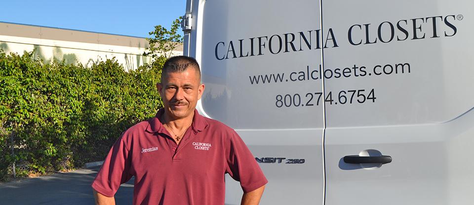 Una historia para cada espacio:  Tres instaladores de California Closets hablan de la importancia de la calidad, del compromiso y el cliente