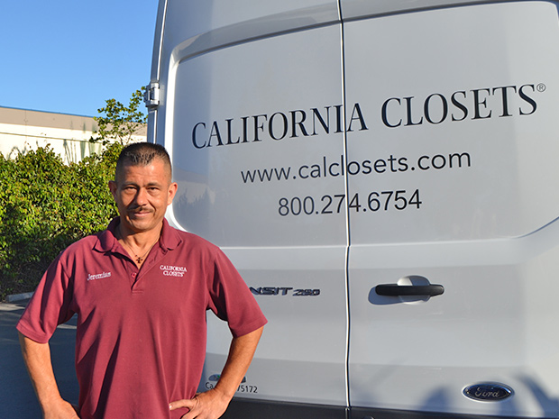 A Story for Every Space: <br> Three California Closets Installers <br> Discuss the Importance of Quality, Commitment and the Customer