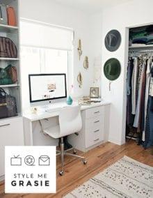 Our New Home: Closet/Office - California Closets