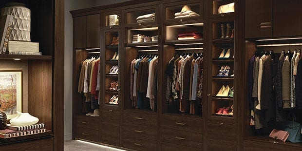Why Lighting is a Bright Idea for Closet Systems