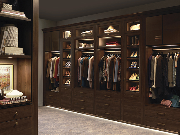 Why closet lighting is a bright idea for your home for Best walk in closets in the world