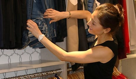Liberte Chan Client Story Client Enjoying Her New Closet Space from California Closets